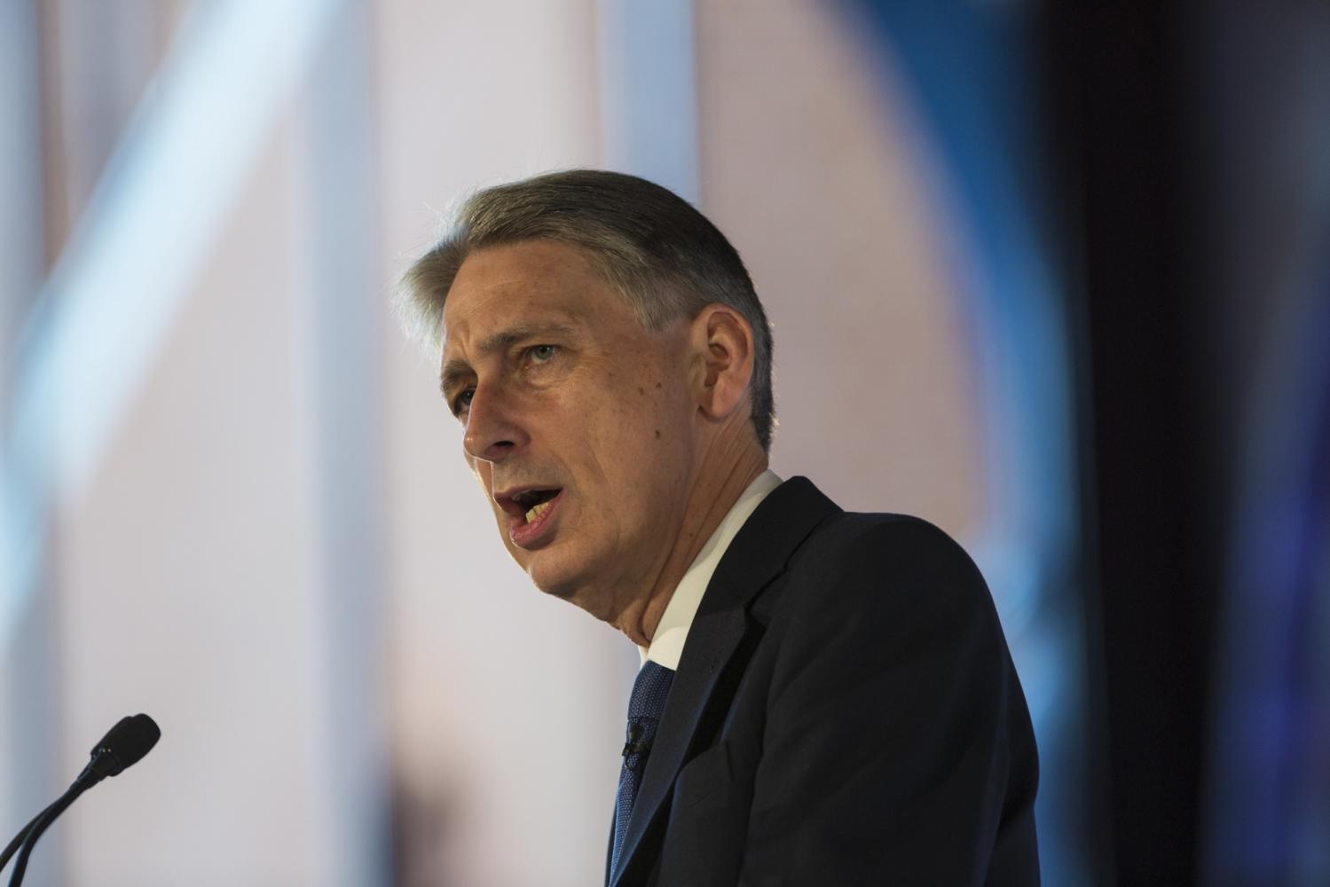 UK Chancellor Philip Hammond