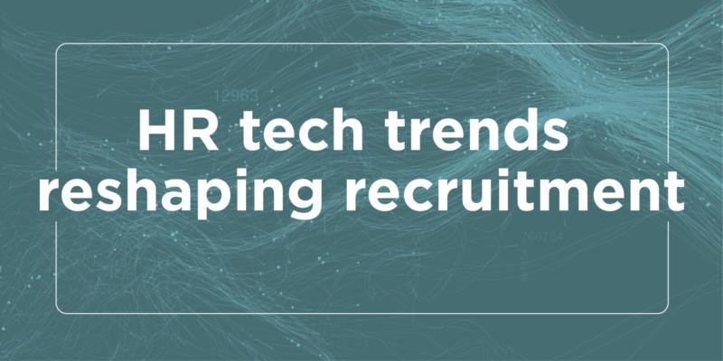 Header banner image for HR tech trends datasheet