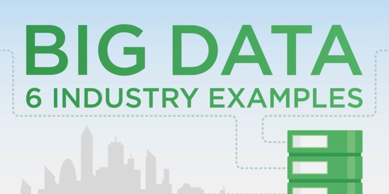 Big data industry examples infographic thumbnail