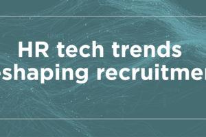 Header banner image for HR tech trends datasheet