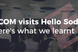 ECOM visits Hello Soda article banner