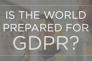 Article header image is the world ready for GDPR?