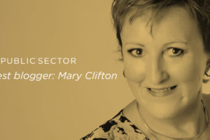 Mary Clifton guest blog for IQ Public Sector article header image